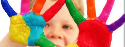 Çocuklarda Renkli Dolgular